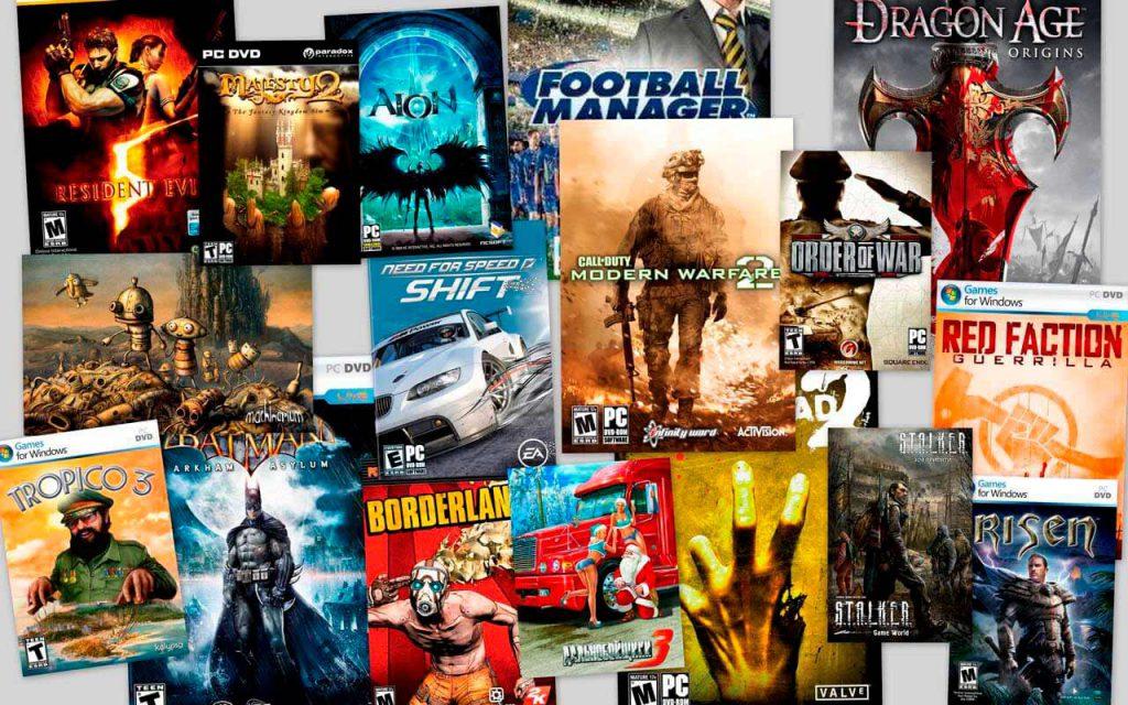 Разновидности компьютерных игр